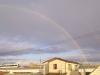 リニモと虹