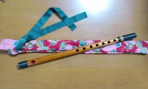 篠笛(お神楽奉納)